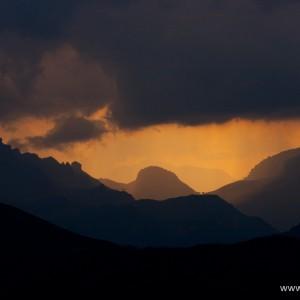 Passo Sella, valico alpino delle Dolomiti posto a 2240 m s.l.m.